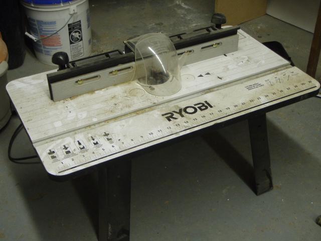 Router Table W Ryobi 061309